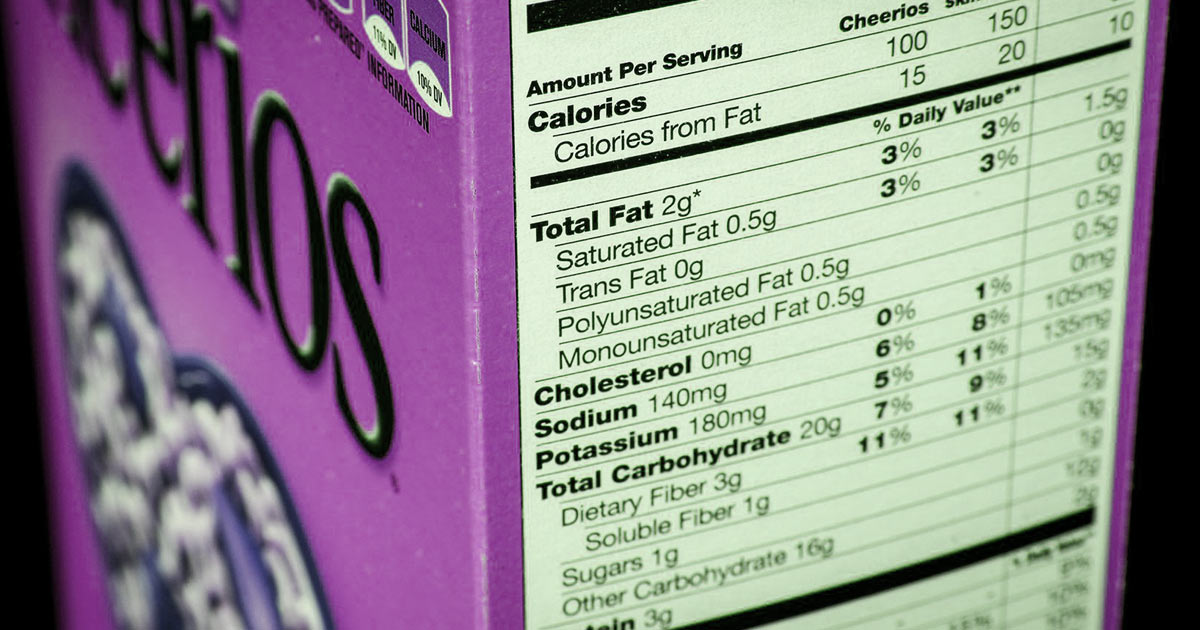 How To Read The Food Labels for Weight Loss